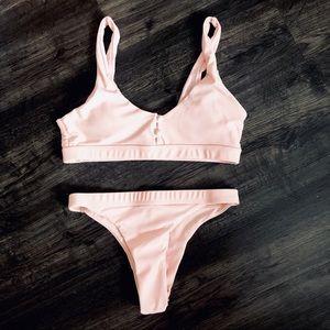 Other - Pink 2 piece bikini